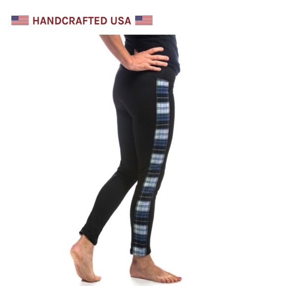 13e0817022989 The Vermont Flannel Company Flannel Trim Leggings